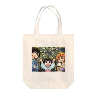 【アクシズ】花火大会 Tote bags