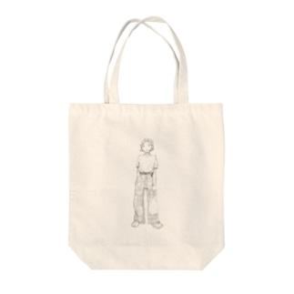 そばかすちゃん Tote bags