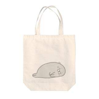 あ ざらし Tote bags