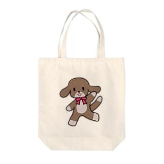 踊る犬 Tote bags