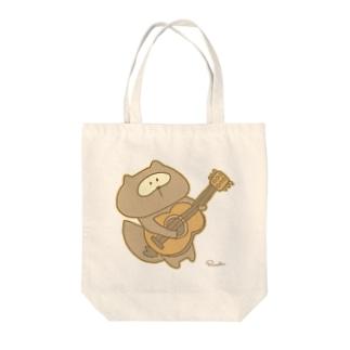 歌おうポコと一緒に Tote bags