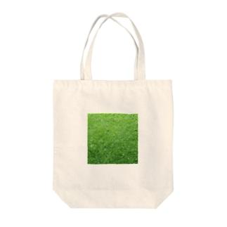GRASS-芝 Tote bags