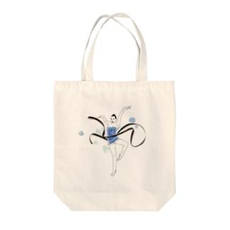 リボンクール女子 Tote bags