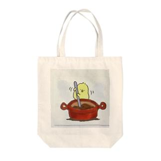 ひよこ丸 Tote bags