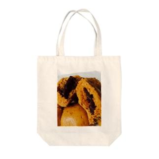 黒糖饅頭 Tote bags