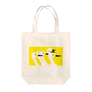 はくちょうのようなもの Tote bags