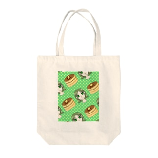 ホットケーキとトキコちゃん Tote bags