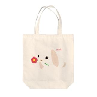 ニコさんちのうららちゃん Tote bags