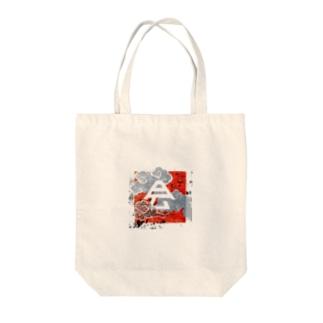 会津の里寺グッズMark Tote bags