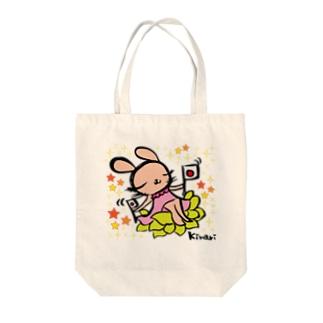 フレフレ~✨日本 Tote bags