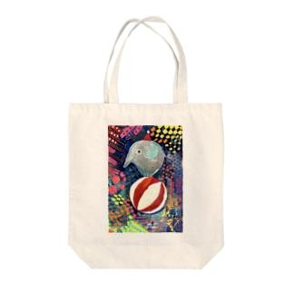 circus サーカスゾウさん Tote bags
