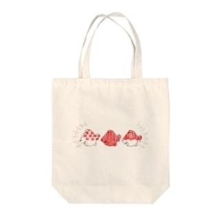ピンポンパール Tote bags