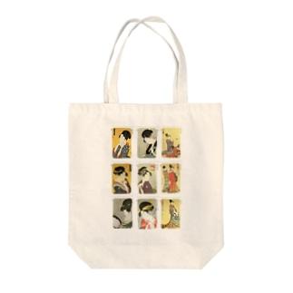 歌麿C Tote bags