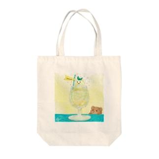 レモくまネード Tote bags