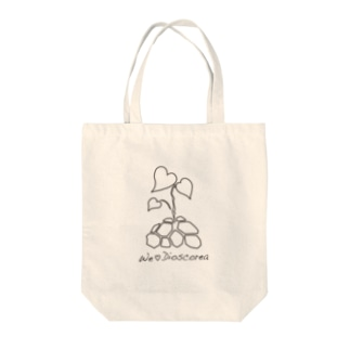 We ♡ Dioscorea Tote bags