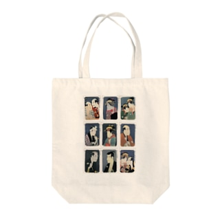 写楽D Tote bags