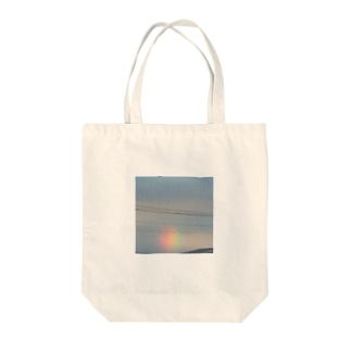 スモールレインボー Tote bags