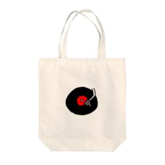 ym303bass オフィシャルショップのアナログレコード Tote bags