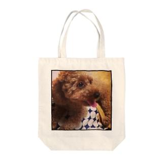 ぷー Tote bags