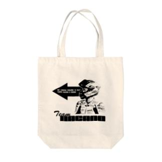 前向き櫻山 Tote bags