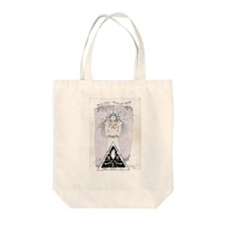 アプラクサス神イラスト紋章入り Tote bags