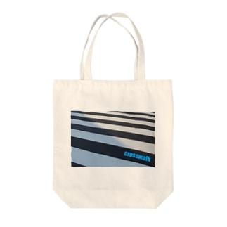 photo-kiokuの横断歩道 Tote bags