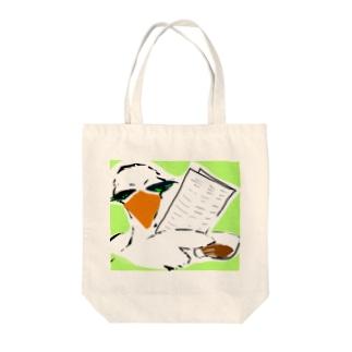情報屋 トリさん Tote bags