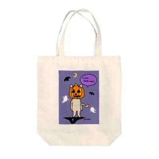 猫 茶トラ ハロウィーン Tote bags