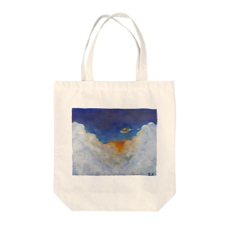 shopping_blueの誘悠 Tote bags