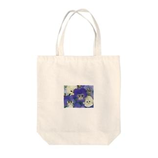 ビオラちゃんファミリー Tote bags