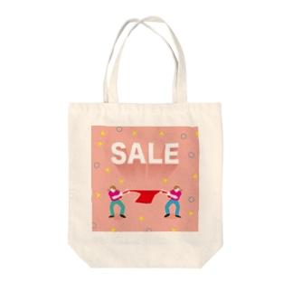 活気グラフィック「セール」 Tote bags