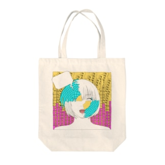 Young and Pointed Tote bags