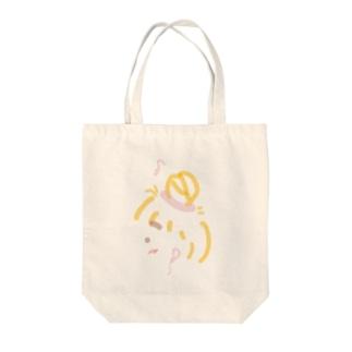 イヤホン女子 Tote bags