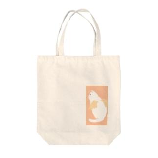 天使ねこ Tote bags