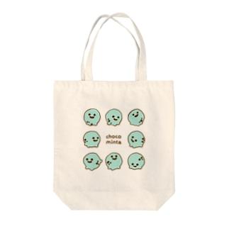 チョコミン太 Tote bags