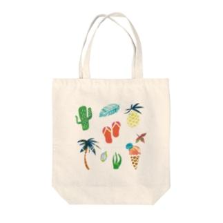 活気グラフィック「ハワイ」 Tote bags
