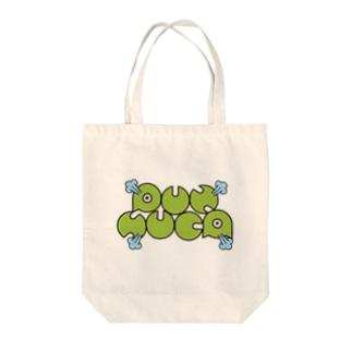 PUNSUCA英字ロゴ Tote bags