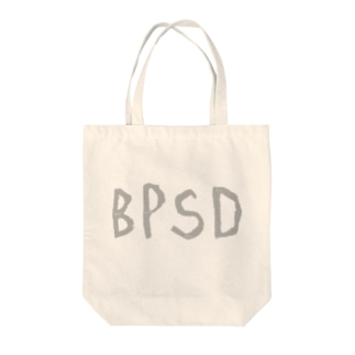BPSDロゴトート(GY) Tote bags