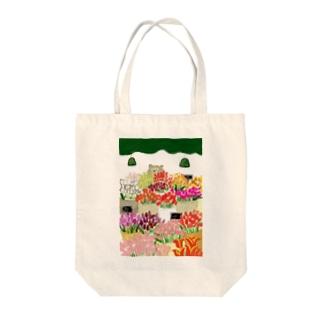 花屋 Tote bags