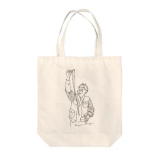 おかじいトート 004 Tote bags