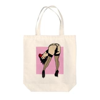 ピンナップガール うの(カラー) Tote Bag