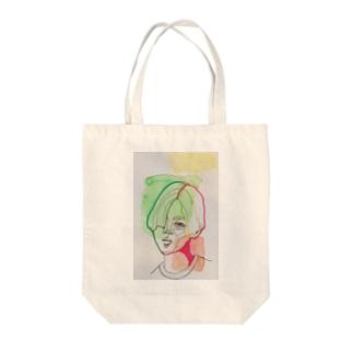 パクくん Tote bags