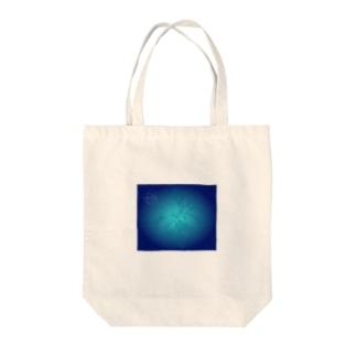 藍の花 Tote bags