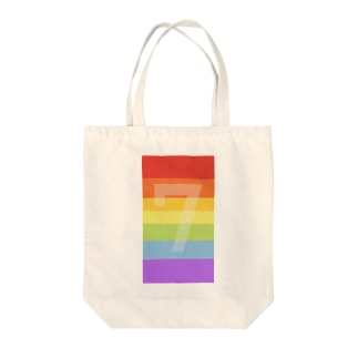 lucky rainbow! Tote bags