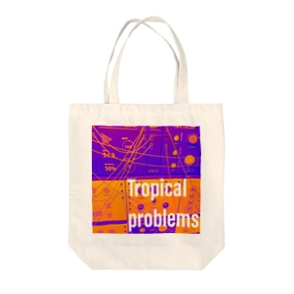 Tropical problems Tote bags
