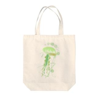 クラゲのグッズ Tote bags