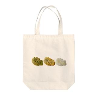 うさぎ鯛焼き3連 Tote bags
