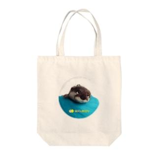 WOOLMOON カワウソ Tote bags