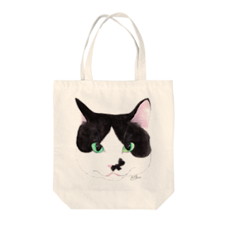 cheeのお結び課長フェイス Tote bags