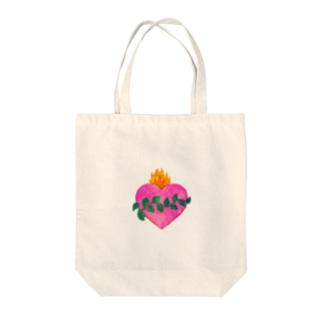 💗🌿観葉植物+メキシコハート🌿💗 Tote bags